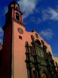 "Church of ""Santo Domingo"" next to Town Hall"