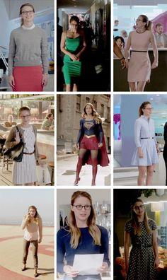 Kara Danvers + Outfits #Supergirl