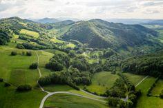 Luftaufnahme Jurapark Aargau
