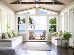 AFTER:From Dump to Dreamy Beach House | Outdoor Spaces - Patio Ideas, Decks & Gardens | HGTV