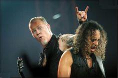 James Hetfield & Kirk Hammett