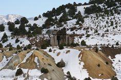 Mining in the winter.  Virginia City, Nevada.
