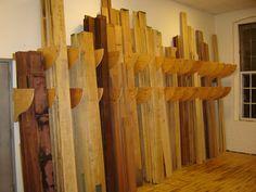 vertical lumber storage - Google Search