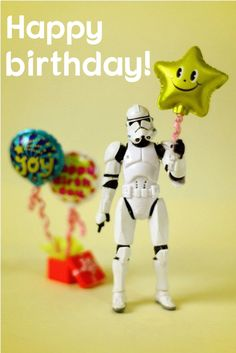 The Softer Side of Star Wars Nerd Birthday, Birthday Wishes Funny, Happy Birthday Pictures, Star Wars Birthday, Happy Birthday Quotes, Happy Birthday Greetings, Star Wars Party, Birthday Messages, Birthday Funnies