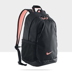 091ab7c763 Nike Varsity Backpack Black Atomic Pink - Rucksack Schoolbag Lunch Gym Sports  in Bags