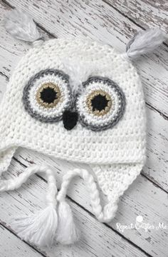 Guest Post: Crochet Snowy Owl Hat