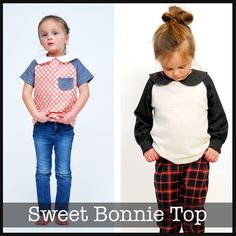 Sweet Bonnie Top — ShwinDesigns