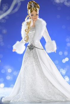 Winter Fantasy™ Barbie® Doll.  2003  First doll in the new Holiday Visions Series.