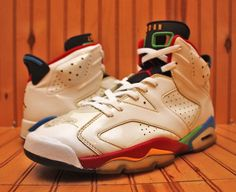 2008 Nike Air Jordan 6 VI Retro Size 11.5 -Beijing Olympics Edition- 325387 161  #Nike #BasketballShoes
