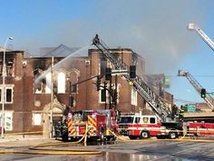 Authorities are investigating what caused a fire that destroyed a Kansas City church.