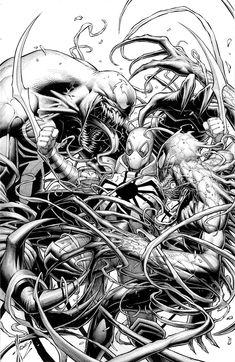 Venom #1 Variant by Dale Keown