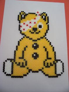 Why not create your own Pudsey from Hama picture beads?!