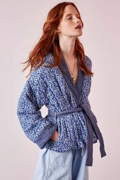 ulla johnson | sachi jacket | tiny floral