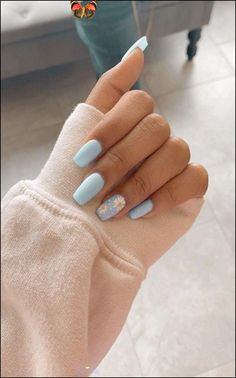 happytiere3 91 simple short acrylic summer nails designs for 2019 page 13 #colorful #photoof... - Dress #happytiere #beautifultiere #beautifulanimals #funnyanimals<br>