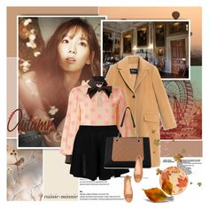 """Illuminated Autumn"" by rainie-minnie ❤ liked on Polyvore featuring Max&Co., Supersweet, Boohoo, Nine West and Fitz & Floyd"