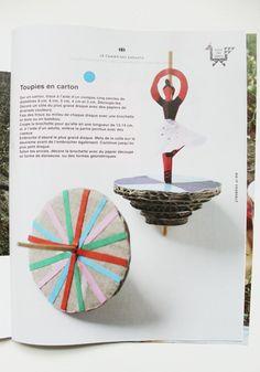 ballerina spinning top via atelier pour enfants