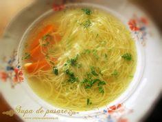 Supa de pasare cu taitei – Zupã de cocoș