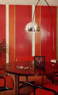 1975 interior design from Better Homes and Gardens.