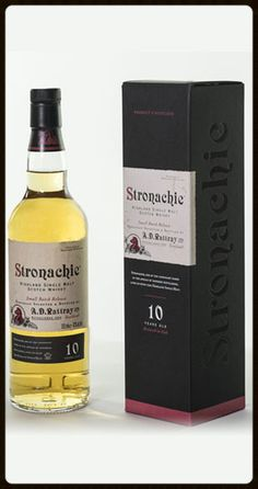 Stronachie 10yo Scotch Whisky by A. D. Rattray