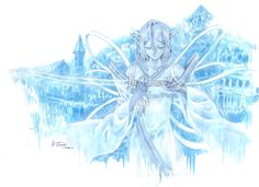 Bleach - Rukia's Bankai by Nick-Ian.deviantart.com on @DeviantArt
