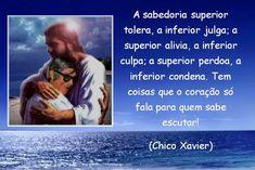 Chico Xavier e Satanás em forma de Cristo