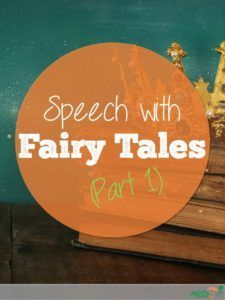 Using books in therapy is a great way to provide multiple opportunities for teaching thematic vocabulary and narrative structure. Fairy tales are great to use, because many students are already familiar with them before they get to school