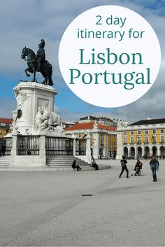 Adoration 4 Adventure's 2 day itinerary for Lisbon, Portugal exploring Barrio Alto and Alfama as well as a day trip to Sintra.