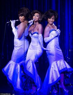 Dreamgirls: Beyoncé and Anika starred in the film adaption of the classic Motown musical in 2006