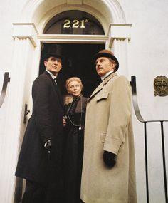 Jeremy Brett as Sherlock  Edward Hardwicke as Dr. Watson Rosalie Williams as Mrs. Hudson