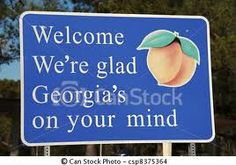welcome to georgia state sign - Google Search