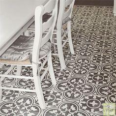 Encaustic Tile, Handmade Copper, Natural Stones, Animal Print Rug, Tile Floor, Tiles, Black And White, Bathroom Flooring, Google Search