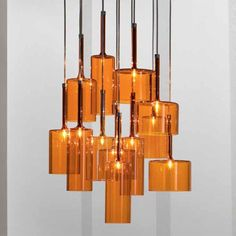 Charming Spillray 12 Light Chandelier In Orange. Too Rich For My Blood But Still  Love It Nice Look
