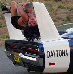 Best stripper pole ever dodge Daytona wing
