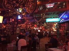 Photo of Heroes Bar & Grill - Fullerton, CA, United States. Christmas lights everywhere! Big screen TVs for some FOOTBALL!!!