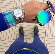 MTD Style / Hermes belt @hermesofficial - Rolex @rolex - Prada shoes #dnkdmr7