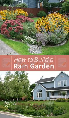 Reducing water pollution is as simple as building a rain garden. Full of vibrant plant life, rain gardens help the environment and add to your curb appeal. #DiaryofaDIYer  Read more here: http://www.diaryofadiyer.com/content/preventing-water-pollution-how-build-rain-garden