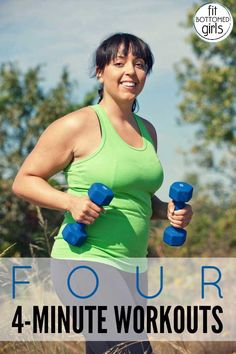 FBG girls share their favorite four-minute workouts! Yes, four minutes! | Fit Bottomed Girls