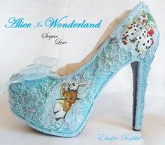 Alice in 1865 Something Blue Lace - Left View