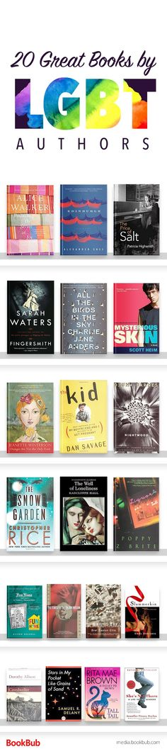 20 books worth reading by LGBT authors. If you're looking for LGBT books fiction, check out these great reads.