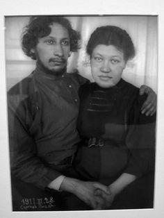 Павел Флоренский с Супругой Анной, 1911
