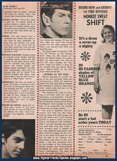 Spock's Advice To A Teenage Girl (page 2)