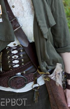 DIY steampunk fashion