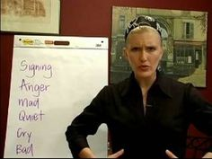 Sign Language Lessons: Common Phrases : How to Sign Feelings in Sign Language