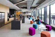 PDT Architects Brisbane Office. Breakout area.