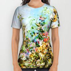 Golden Garden All Over Print Shirt