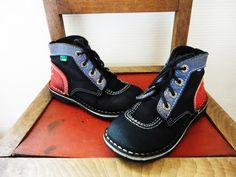 Chaussures Kickers Enfant par BettyseVintage sur Etsy