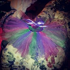 0-3 month tutu I made for Brooklynn!