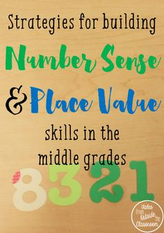 Ideas, resources, and games for building place value and number sense skills in grades 2-4.