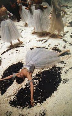 Ballerina Snow Angels