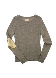 Zadig & Voltaire.  Modern up date on classic collegiate elbow patch sweater.